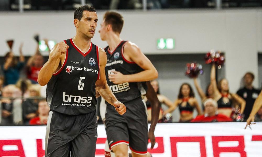 Basketball Champions League: Πρώτη νίκη με πρωταγωνιστή Ζήση η Μπάμπεργκ