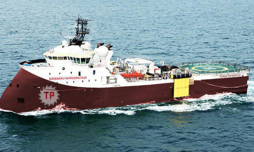 Θερμό επεισόδιο ανάμεσα σε ελληνική φρεγάτα και το τουρκικό σκάφος «Barbaros»