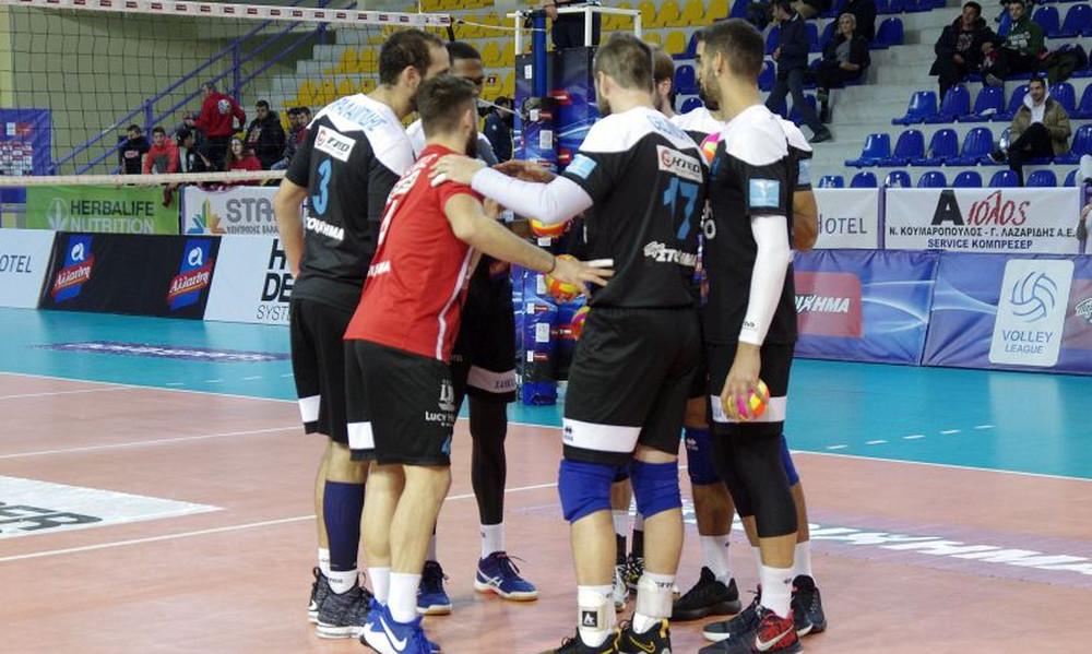 Volleyleague: Πήραν όλοι άδεια εκτός του Ηρακλή Χαλκίδας