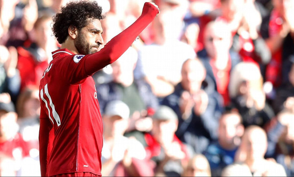 Premier League: Με Σαλάχ στην κορυφή η Λίβερπουλ