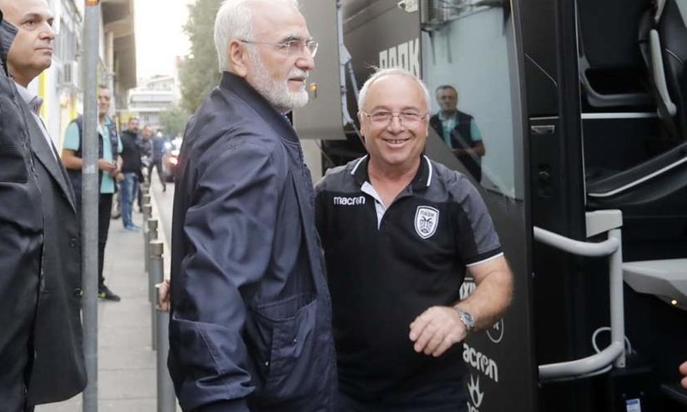 Άρης-ΠΑΟΚ: Αυτά είπε ο Ιβάν Σαββίδης στους παίκτες πριν αποχωρήσει!