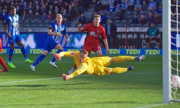 Bundesliga: Μοιρασιά με VAR ανάμεσα σε Χέρτα και Φράιμπουργκ