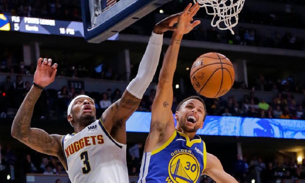 NBA: Φρένο στους Γουόριορς οι εκπληκτικοί Νάγκετς (video)