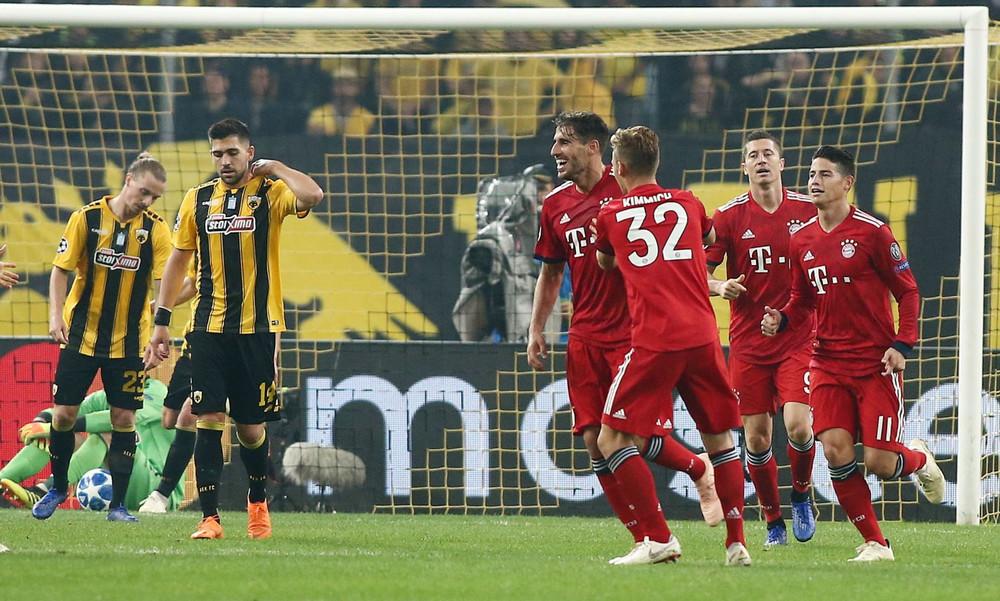 ΑΕΚ-Μπάγερν Μονάχου 0-2 (τελικό)
