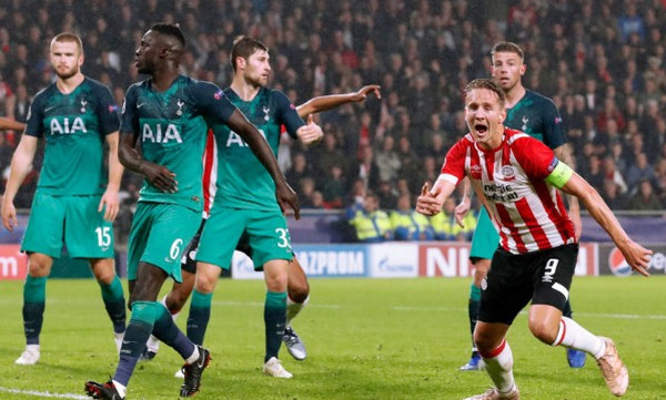 Champions League: Γκέλα στην Ολλανδία για Τότεναμ, πρώτος βαθμός για Μπριζ και Μονακό (videos)