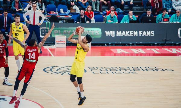"Basketball Champions League: ""Χαστούκι"" της Αντβέρπ στη Χάποελ του Αμάρε!"