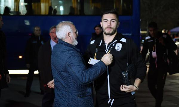 Ιβάν Σαββίδης: Περίμενε τους παίκτες στην Τούμπα (photos)
