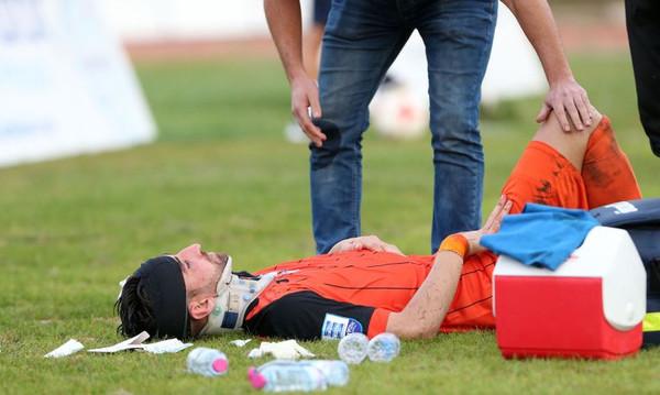 Σοκαριστικός τραυματισμός του Κάστρο! (photos)