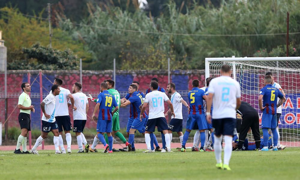 Απίστευτο συμβάν σε ελληνικό γήπεδο: Φυσιοθεραπευτής κόβει επίθεση... αντιπάλου (video)