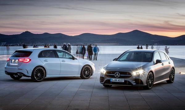 H Mercedes A-Class είναι χαρισματική