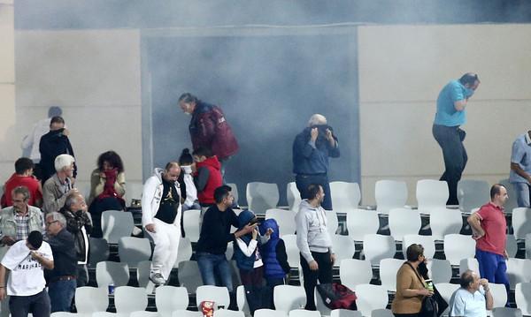 Ολυμπιακός: Αυτά αναφέρει η έκθεση της αστυνομίας για τα επεισόδια στην Πάτρα