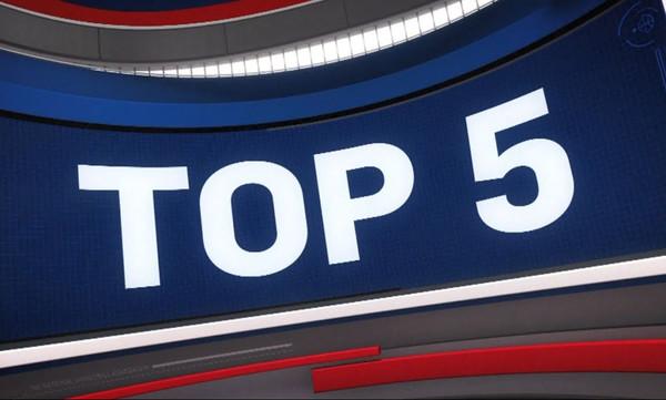 NBA Top 5: Παραλίγο να σπάσει την μπασκέτα ο Μπριτζ! (vid)
