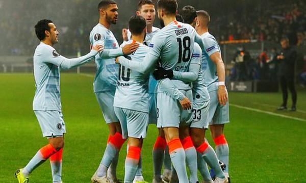Europa League: Στους «32» Λάτσιο και Τσέλσι (videos)