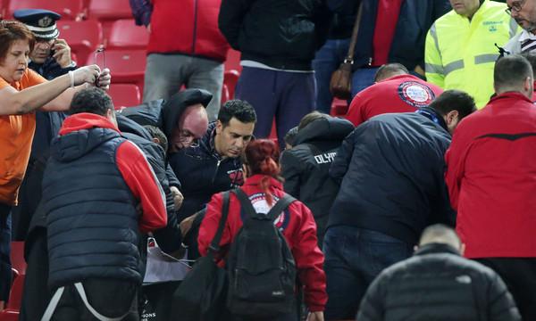 Ολυμπιακός-Παναθηναϊκός: Τα συλλυπητήρια του Μαρτίνς για τον άτυχο οπαδό (photo)