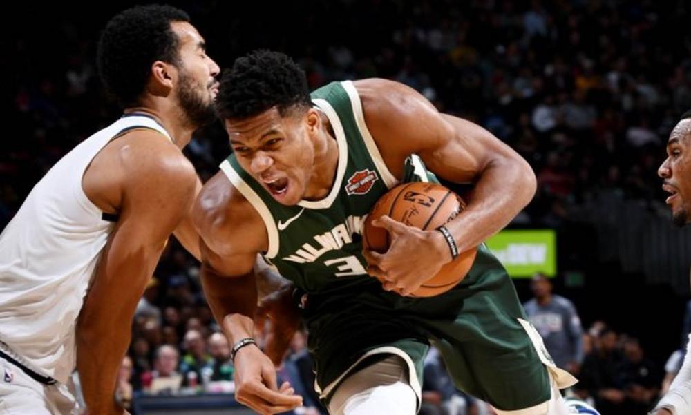 NBA: Μεγάλη εμφάνιση Γιάννη, σπουδαίο διπλό για Μπακς (video)