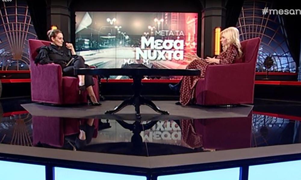 Η εξομολόγηση της Δουκακάρου: «Το βράδυ που έπεσε το μαύρο στο MEGA δεν μπορούσα να κοιμηθώ»