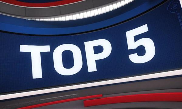NBA Top 5: Το «360» καλάθι του ΝτεΡόζαν σκαρφαλώνει στην κορυφή! (vid)