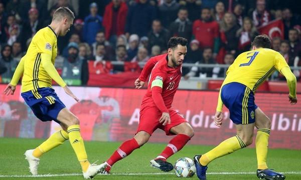 Nations League: Η Σουηδία υποβίβασε την Τουρκία (video)
