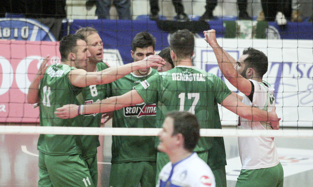Volley League: Τα αποτελέσματα της 6ης αγωνιστικής