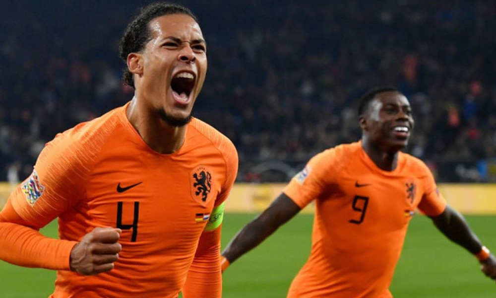 Nations League: Η εκπληκτική κίνηση του Φαν Ντάικ προς τον διαιτητή του Γερμανία-Ολλανδία (video)