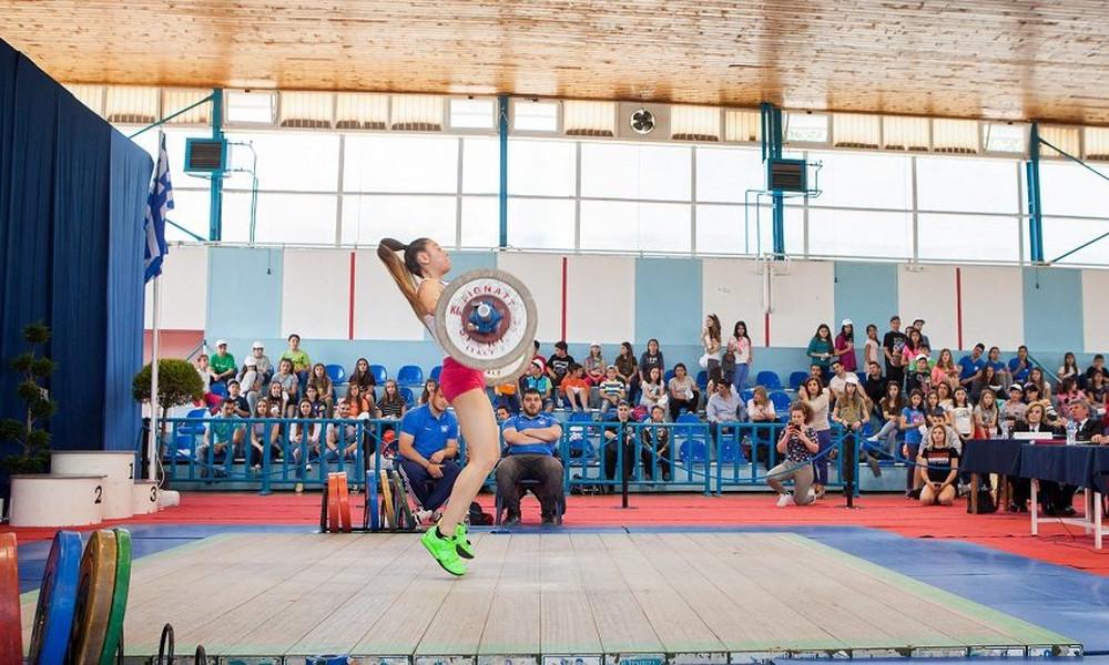 Ξεκινά το Πανελλήνιο πρωτάθλημα Άρσης Βαρών