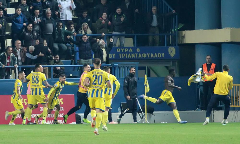 Παναιτωλικός-ΑΕΚ 2-1: Τη σκότωσε ο Καμαρά (photos)
