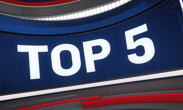 ΝΒΑ Top 5: Στην κορυφή ο Αντετοκούνμπο! (vid)