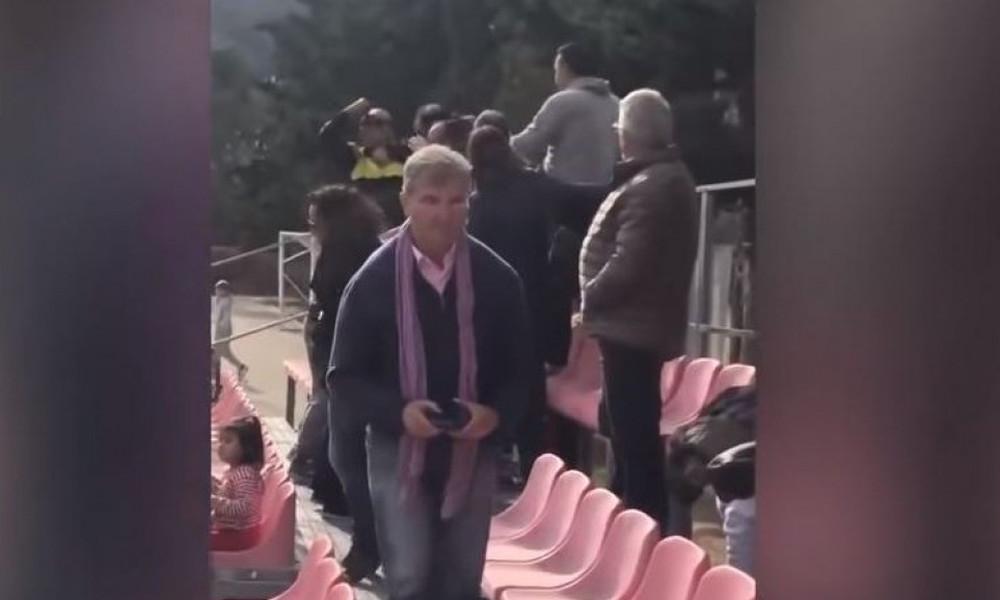 Τρομερό ξύλο γονέων σε αγώνα πιτσιρικάδων! (vid)