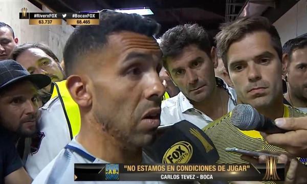Τέβες: «Δεν πρέπει να γίνει το ματς. Είναι ντροπή για την CONMEBOL»