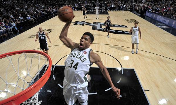 NBA: Στα κορυφαία καρφώματα της βδομάδας ο Γιάννης! (video)