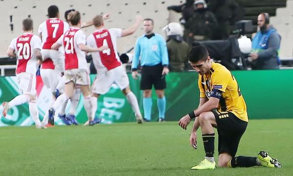 ΑΕΚ – Άγιαξ 0-2: Εικόνα θλίψης και «αντίο» Ευρώπη (photos)