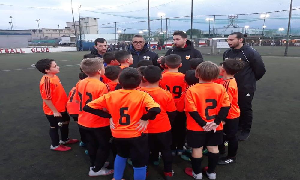 Σε Αθήνα και Κύπρο ο Tony Navarro από το GPS SEE / Valencia CF Soccer Program