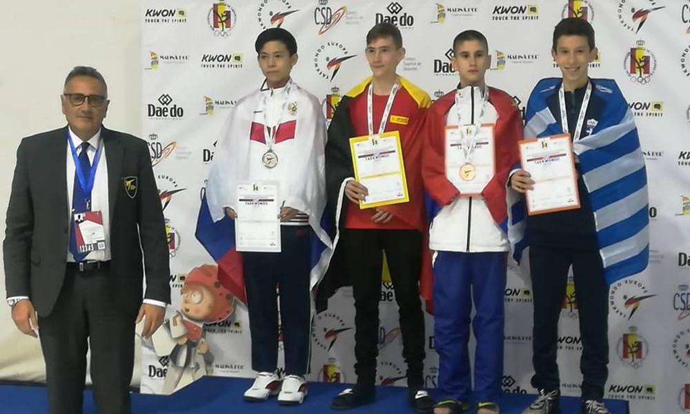 Χάλκινα μετάλλια για Καμαγιάννη και Δημητρόπουλο στο Ευρωπαϊκό Πρωτάθλημα παίδων/κορασίδων