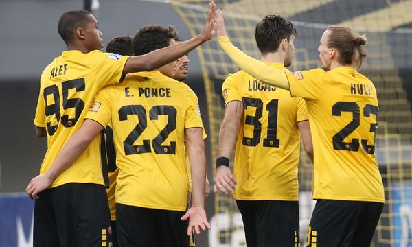AEK-Λαμία 2-0: Πλέον είναι πιο ήρεμη...
