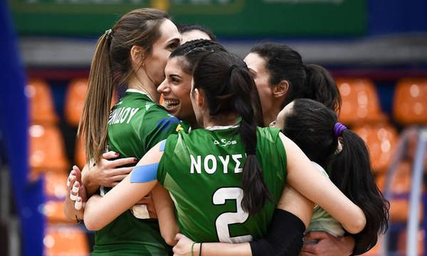 Παναθηναϊκός-ΑΕΚ 3-0: Έκαναν «περίπατο» τα «φίνα κορίτσια»
