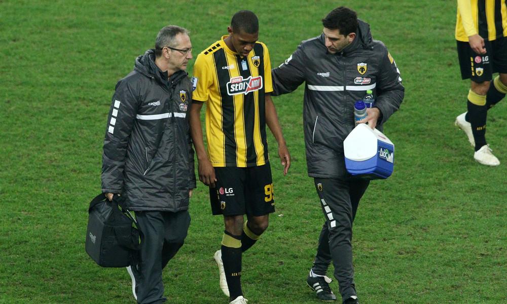 ΑΕΚ: Τραυματίας αποχώρησε ο Άλεφ