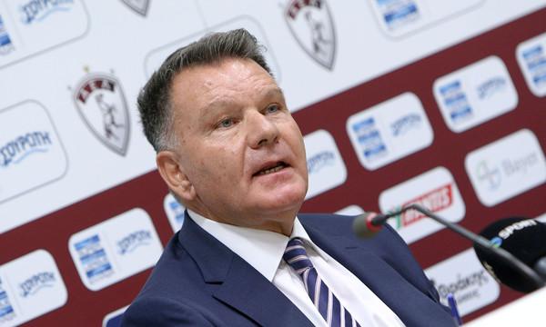 Κούγιας: «Δεν κατεβαίνουμε να παίξουμε με την ΑΕΚ»