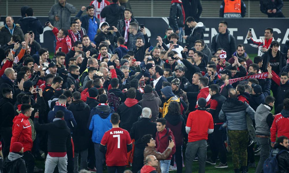 UEFA: Καλεί σε απολογία τον Ολυμπιακό