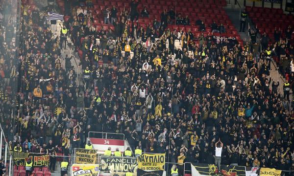 Η παρακάμερα από το αντίο της ΑΕΚ στο Champions League (video)