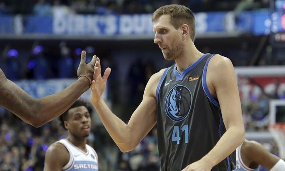 NBA: Αποθέωση για Νοβίτσκι (vid)