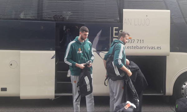 Παναθηναϊκός ΟΠΑΠ: Έφτασαν στη Μαδρίτη οι «πράσινοι» (photos+videos)