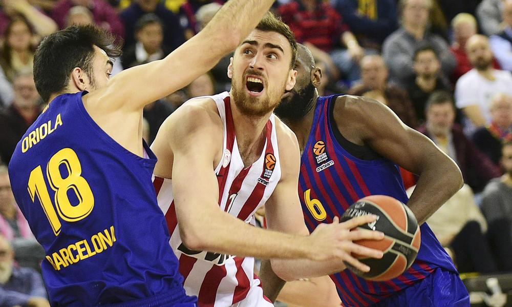 Μπαρτσελόνα-Ολυμπιακός 60-69: «Θηρίο» Μιλουτίνοφ και άμυνα «έπνιξαν» τους Καταλανούς!