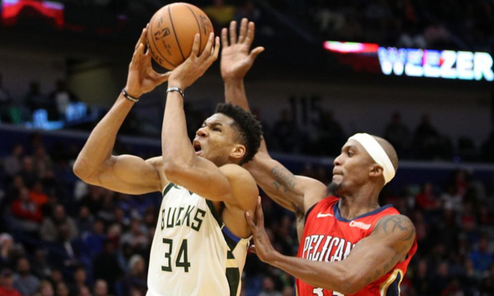 NBA: Τυφώνας… Γιάννης στο Top-10 (vid)