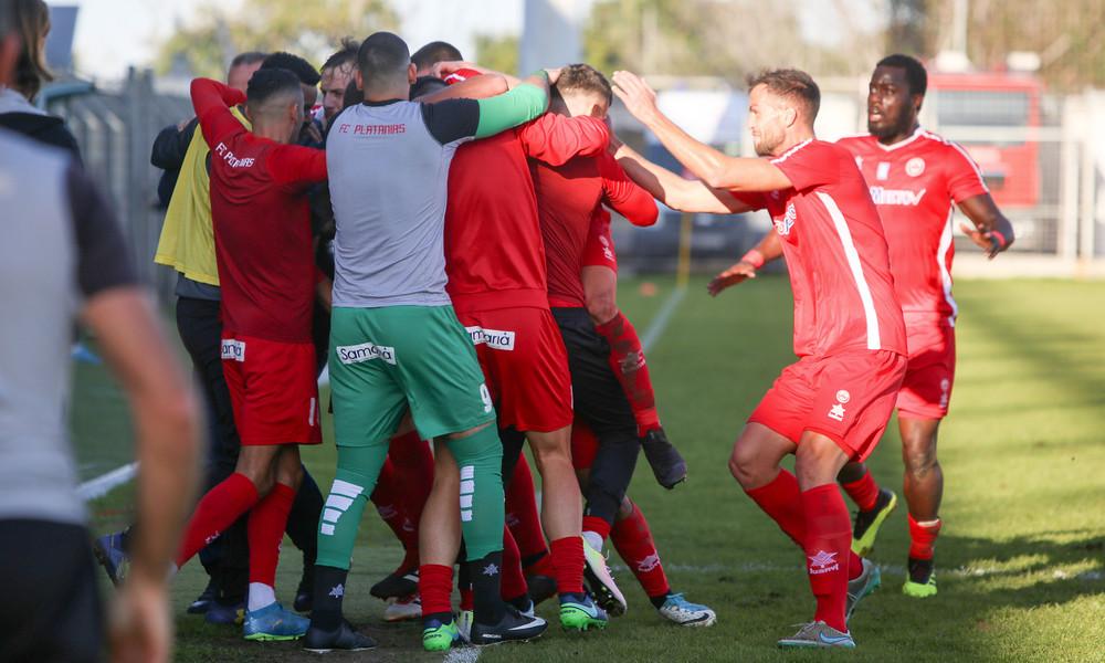 Football League: Ο Πλατανιάς το ντέρμπι με σόου Καραγκούνη