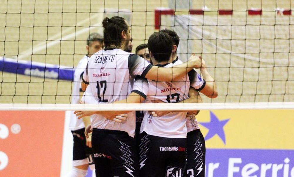 Volleyleague: Πήρε το ντέρμπι ο ΠΑΟΚ, τρίτος ο Παναθηναϊκός