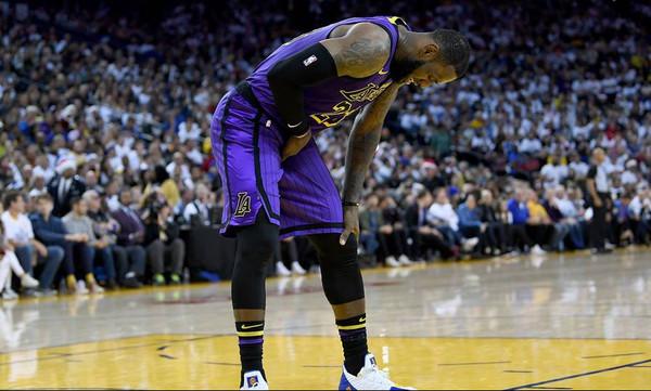NBA: Ατυχία με Λεμπρόν