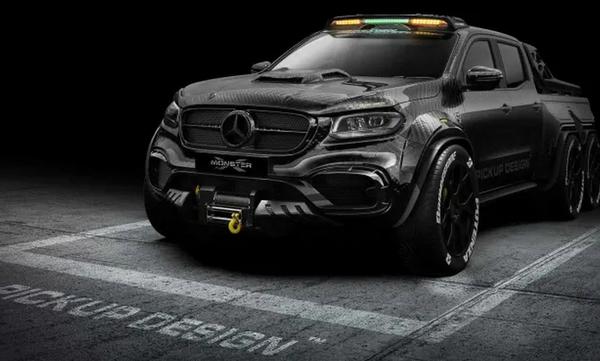 Ό,τι πιο θηριώδες έβγαλε ποτέ η Mercedes-Benz