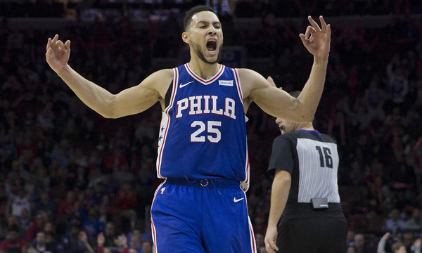 NBA: Χάζεψε τον αντίπαλό του ο Σίμονς! (vid)