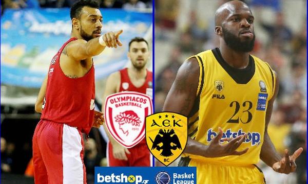 Ολυμπιακός-ΑΕΚ: Το ντέρμπι της Basket League με αριθμούς