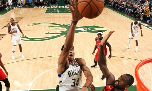 NBA: Μοναδικό σόου από Αντετοκούνμπο, αλλά δεν έφτανε (videos)